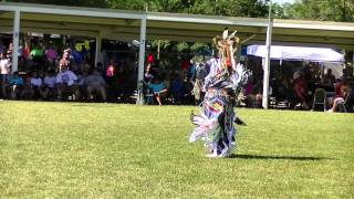 Trae Little Sky in the Finals Grass Dance Special in Mayetta June 2013