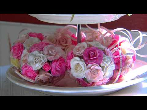 เพื่อนคู่คิด : ดอกไม้กระดาษสา