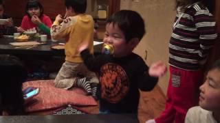 1歳8ヶ月のピコ太郎です(笑)