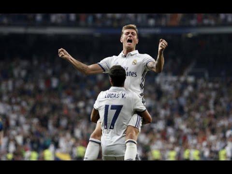Real Madrid 2-1 Celta de Vigo Liga Santander 2016-2017 | COPE