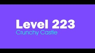 Candy Crush Saga level 223 Help,Tips,Tricks and Cheats