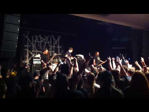 Napalm Death - Nazi Punks Fuck Off @ The Factory Theatre (11/10/17)