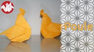Origami - Poule - Hen [Senbazuru]