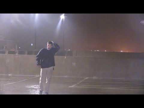 Hurricane Irma Closes in on Orlando Florida ,Monday 1 AM