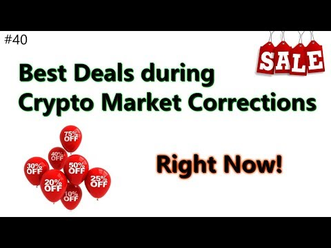 Best Crypto Deals during Market Corrections! - Daily Deals: #40