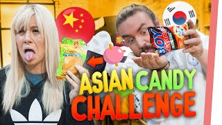 ASIATISCHE Candy Challenge | Kelly & Sturmwaffel haben eine Geschmacksexplosion
