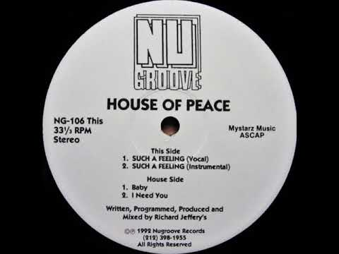 House Of Peace – Such A Feeling (Instrumental)