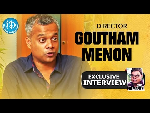 Director Gautham Menon Exclusive Interview || Talking Movies with iDream #12