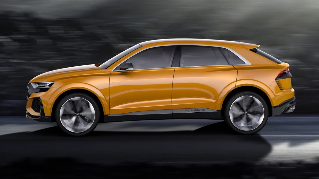 2018 audi q8 revealed youtube. Black Bedroom Furniture Sets. Home Design Ideas