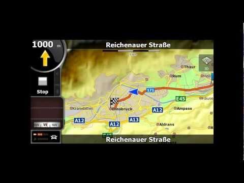 Tutorial Igo8 Simulare Traseu In Austria Hall In Tirol