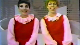 LIZA MINNELLI and CAROL BURNETT Sing A Medley About Time