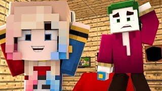 Minecraft: WHO'S YOUR DADDY? - BEBÊ ARLEQUINA (ESQUADRÃO SUICIDA)