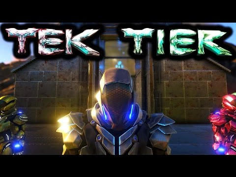 ARK TEK TIER REVEAL REVIEW Armor, Weapons & more! Ark Survival Evolved Tek Tier Trailer Gameplay