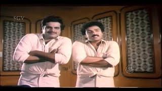 Ravichandran and Ambarish Nonstop Comedy Videos   Comedy Scenes of Kannada Movies