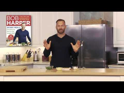 Bob Harper On His New Cookbook SKINNY MEALS