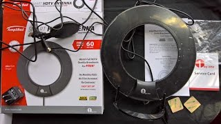 1byone HDTV 60 Miles Amplified TV Antenna with Integrated Inline Smart Box Review Testing