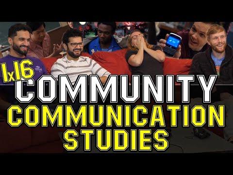 Community - 1x16 Communication Studies - Group Reaction