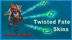 All Available Twisted Fate Skins (League of Legends)