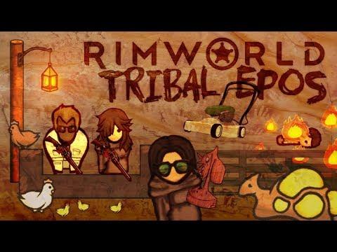 RimWorld Tribal Epos - the first autumn