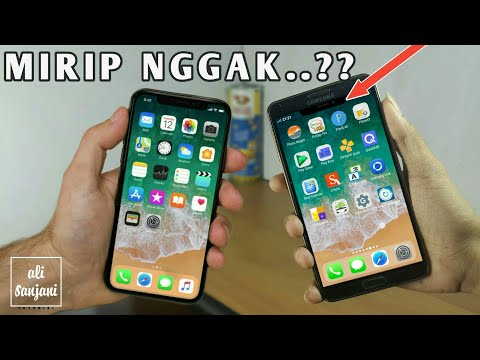 How to Change Android Display So IPHONE X - Phone X Launcher | Tutorial android