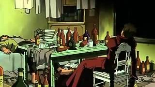 Doblado al español, capítulo de la serie Trigun, pertenecientes sus derechos de emisión a la distribuidora Selecta Visión.
