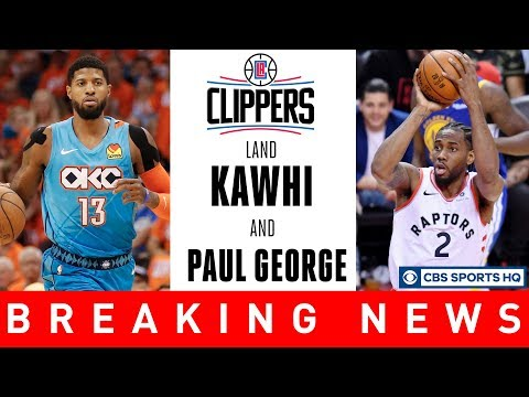 KAWHI LEONARD & PAUL GEORGE TO THE CLIPPERS | NBA Free Agency | CBS Sports HQ