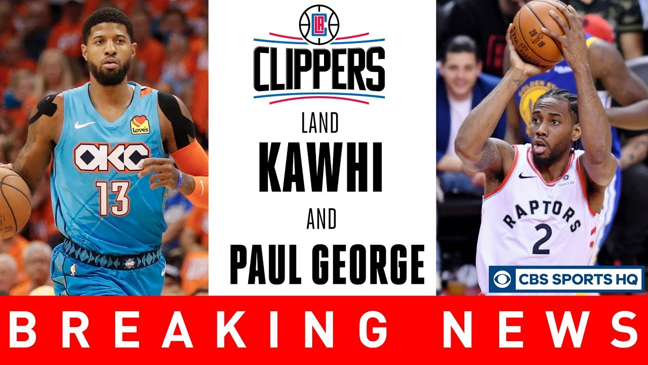 KAWHI LEONARD & PAUL GEORGE TO THE CLIPPERS | NBA Free Agency | CBS Sports HQ
