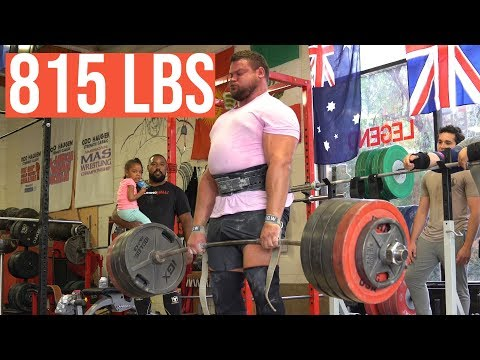 Back to HEAVY Deadlifts! - 5 Weeks To World's Strongest Man