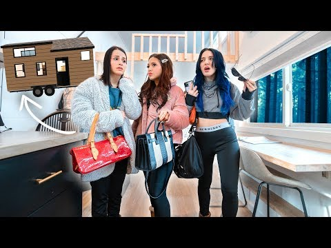 3 Sisters Forced to Bond in a Tiny Home Challenge *KICKED OUT*