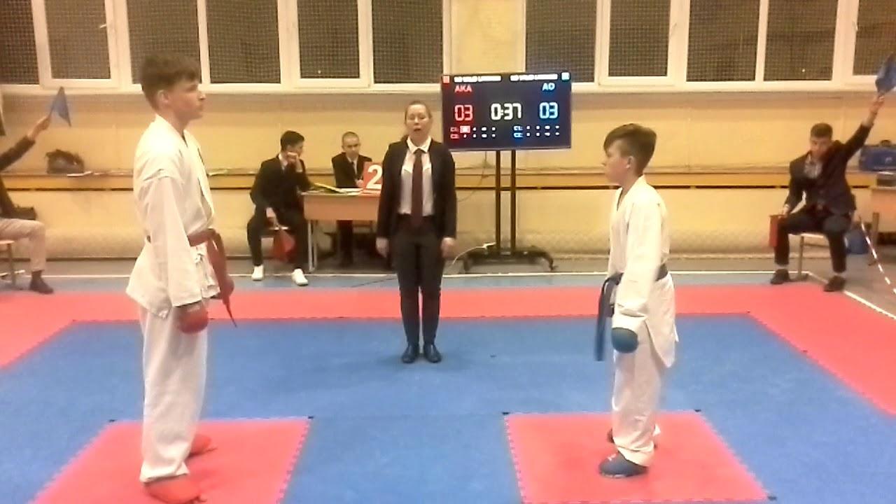 WKF  karate Размер не главное!!! (самое интересное со 2-ой минуты)