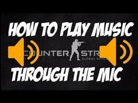 How to play music in csgo or any online game or chat on mac (mic spamming)