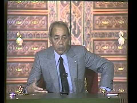 Discours Royal du Feu HASSAN II, 14/01/1986