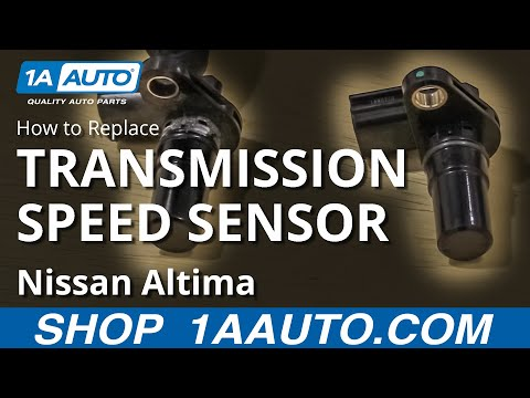 How to Replace Transmission Speed Sensor 06-12 Nissan Altima