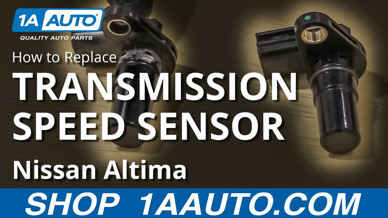 How To Replace Transmission Speed Sensor 06 12 Nissan Altima Youtube