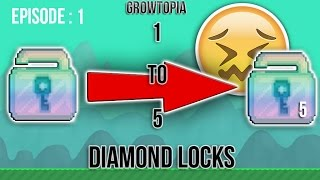 Growtopia - 1 TO 5 DLS. EP 1. NEW SERIES. Introduce !