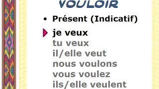 Verbe Vouloir Conjugaison Audio