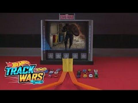 Специальный выпуск: Капитан Америка: гражданская война  Track Wars  Hot Wheels