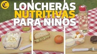 Tres loncheras nutritivas para niños en etapa escolar - El Comercio | elcomercio.pe