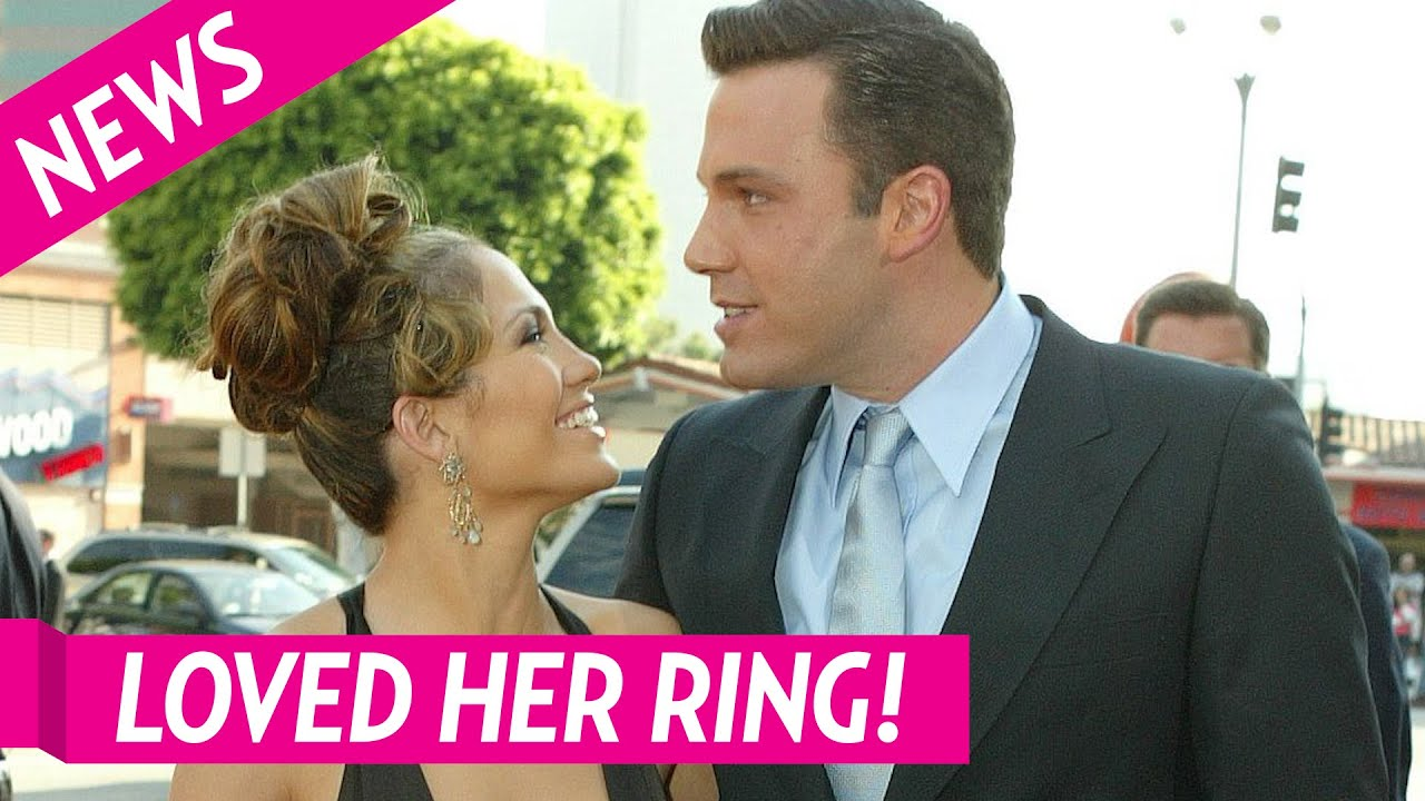 Jennifer Lopez 'Loved' Getting Her Engagement Ring from ...