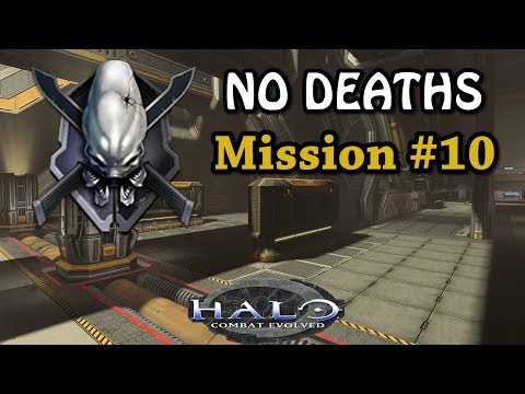HALO CE LEGENDARY NO DEATHS Walkthrough ► Mission #10 The Maw + Failed Attempts