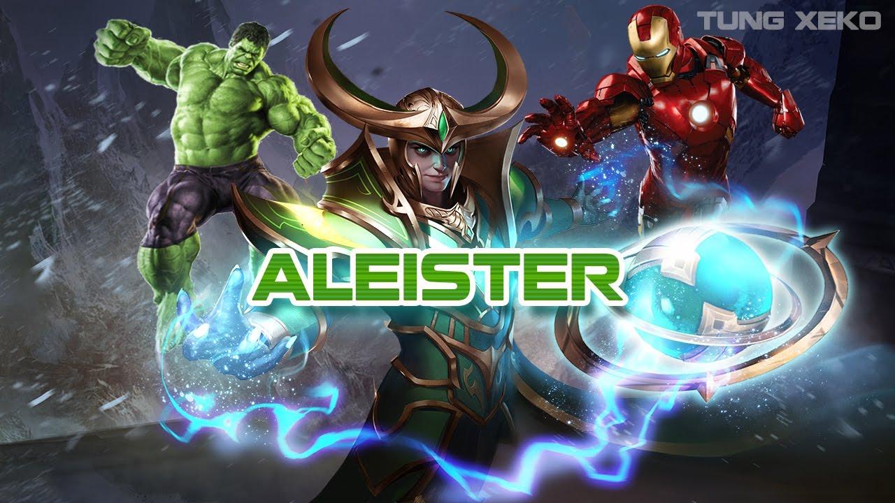 Hướng dẫn chơi Tướng Aleister - Ác Thần Xảo Quyệt - Liên Quân Mobile -  Realm of Valor