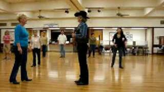 At The Hop  ( Line Dance  ) Walkthrough