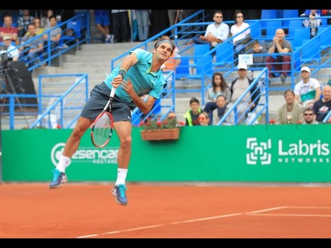 Roger Federer vs. Diego Schwartzman- Semifinal ATP 250 de Estambul [Highlights]