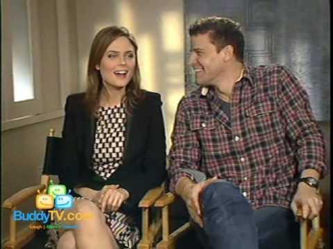 BuddyTV Interview with David Boreanaz and Emily Deschanel
