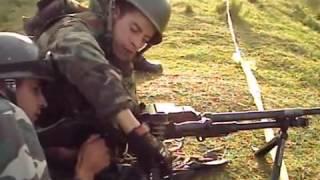 Curso de tiradores de Ametralladoras Ejercito de Chile 2011