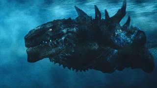 Godzilla (American) vs Ramarak the Skull Crawler | Monster Verse Kaiju Fight