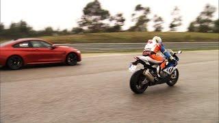 BMW S 1000 RR vs. BMW M4 - GRIP - Folge 309 - RTL2