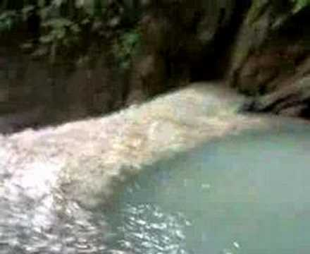 Tourist Attraction the Mainit Falls of Lupon