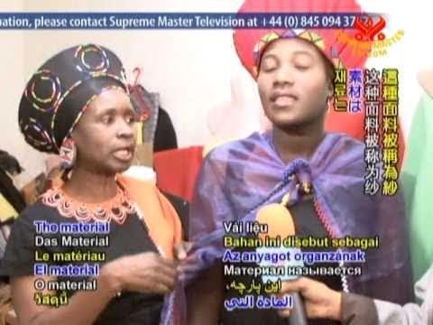 Zulu Clothing Designer Rose Mabunda part 2of2