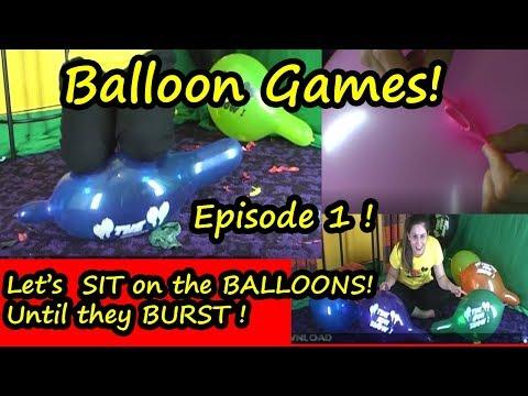 Balloon Games - Let's Sit on Balloons! Balon Tiup Balon Patlaması Yarışı from YouTube · Duration:  8 minutes 53 seconds